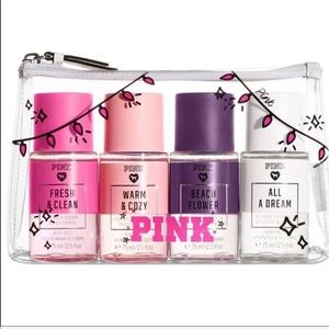 PRICE FIRM NEW Scents X PINK Mini Mist Gift Set